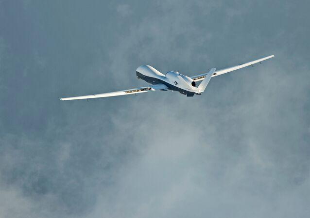 طائرة أمريكية دون طيار طراز  MQ-4C Triton