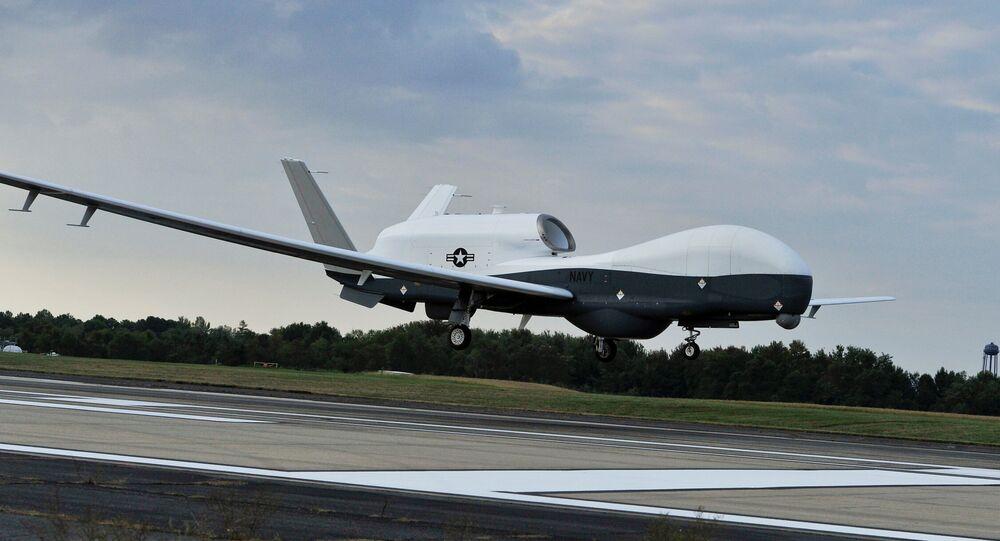 طائرة التجسس الأمريكية إم كيو 4 سي ترايتون