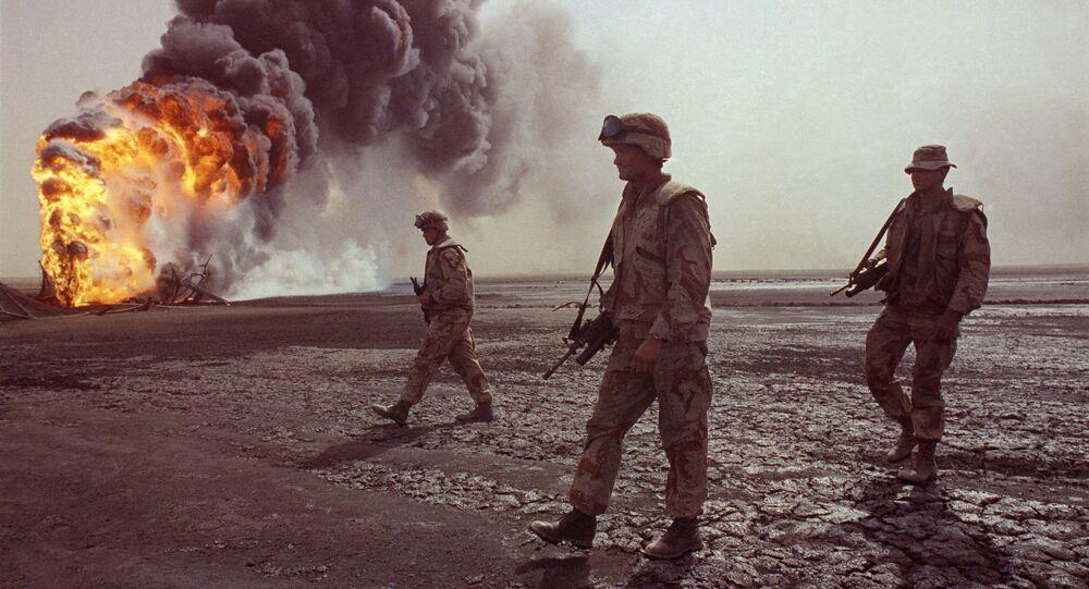القوات الأمريكية في الصحراء