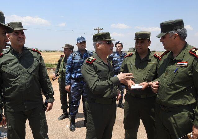 الأمن الداخلي السوري يخوض معاركه على الخطوط الخلفية لجبهة ريف حماة