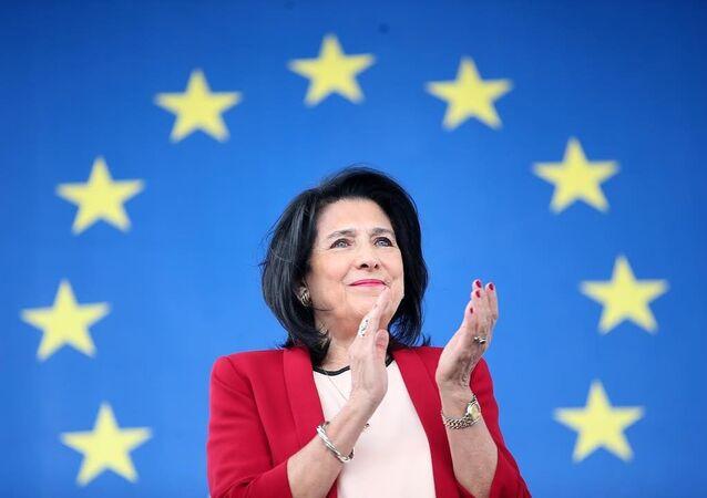 الرئيسة الجورجية سالومي زورابيشفيلي