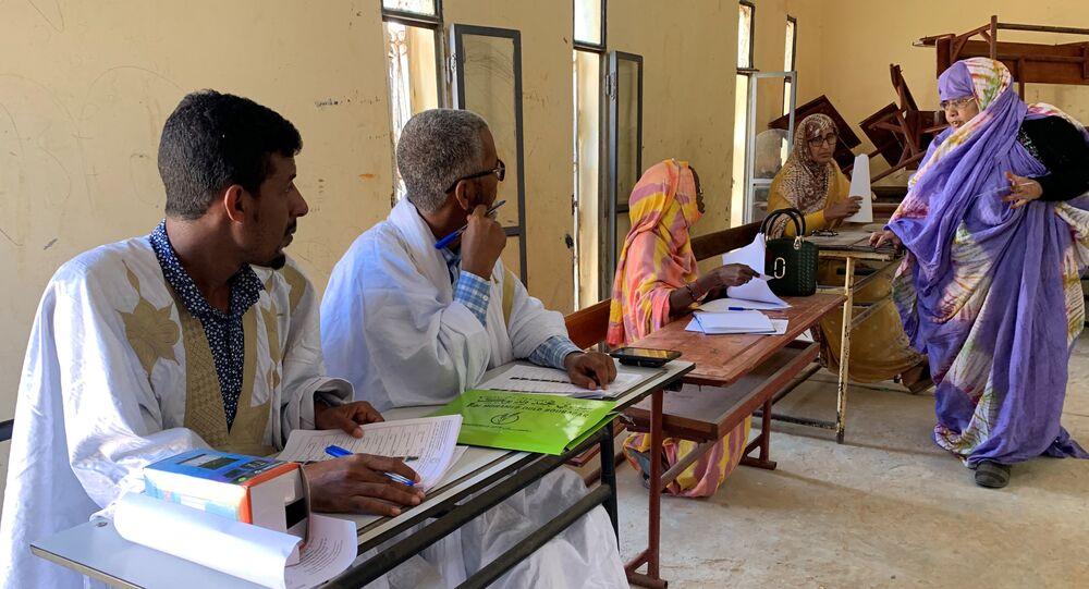 انتخابات موريتانيا
