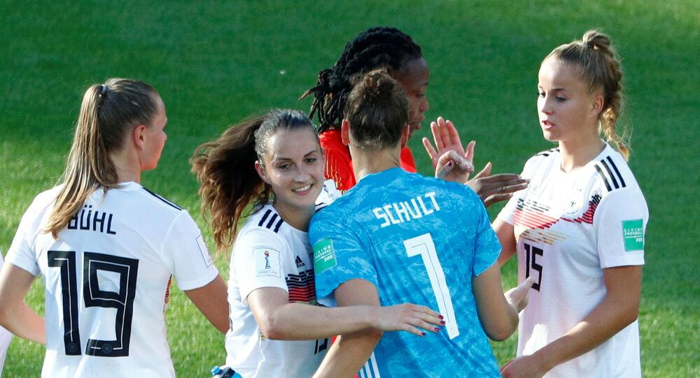 منتخب ألمانيا النسائي لكرة القدم في كأس العالم للسيدات