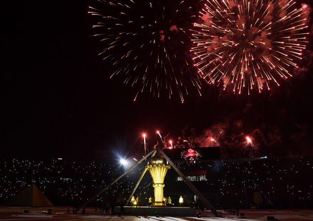 افتتاح أمم أفريقيا في مصر