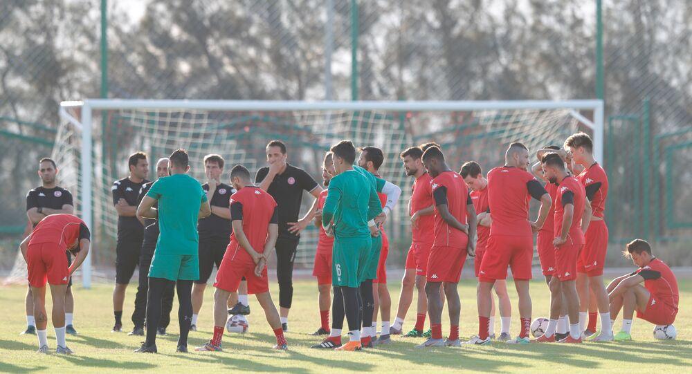تدريبات المنتخب التونسي