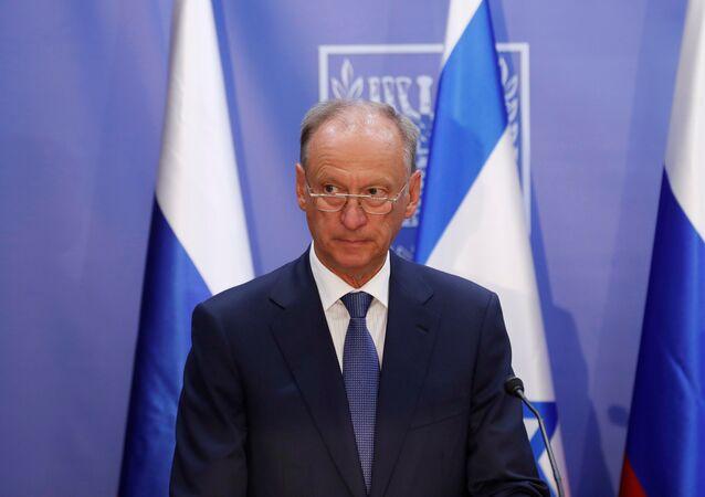 سكرتير مجلس الأمن القومي الروسي، نيقولاي باتروشيف في القدس