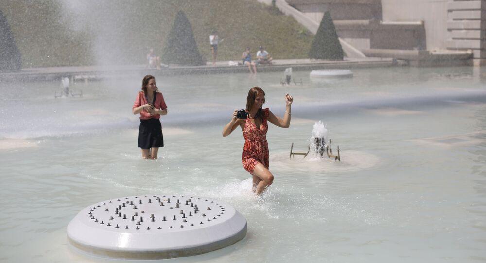 الحر في أوروبا - باريس، فرنسا 25 يونيو/ حزيران 2019