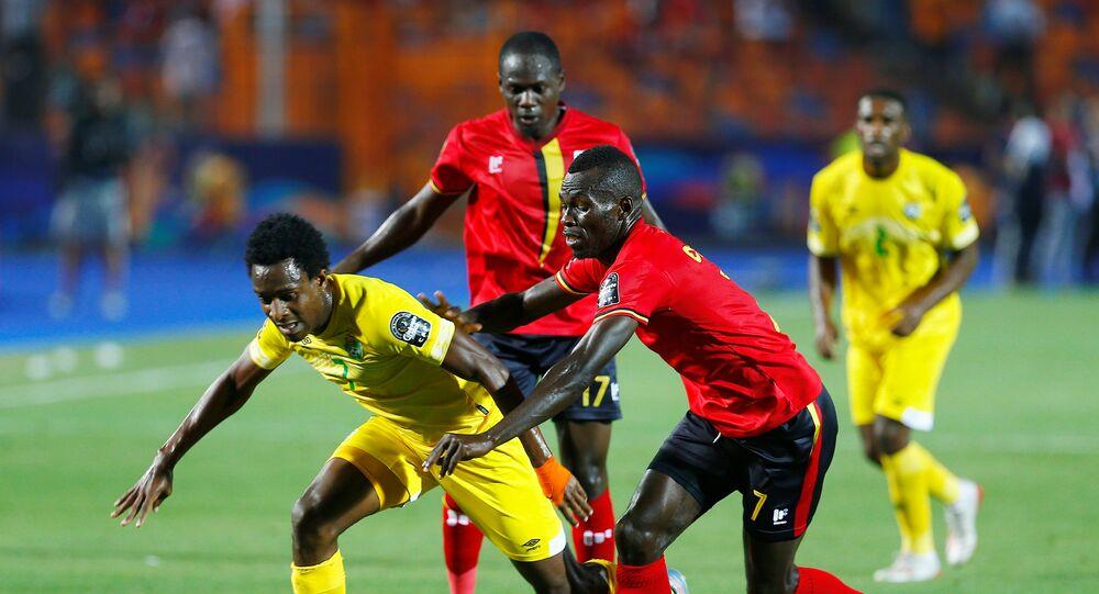 مباراة أوغندا وزيمبابوي في كأس أمم أفريقيا