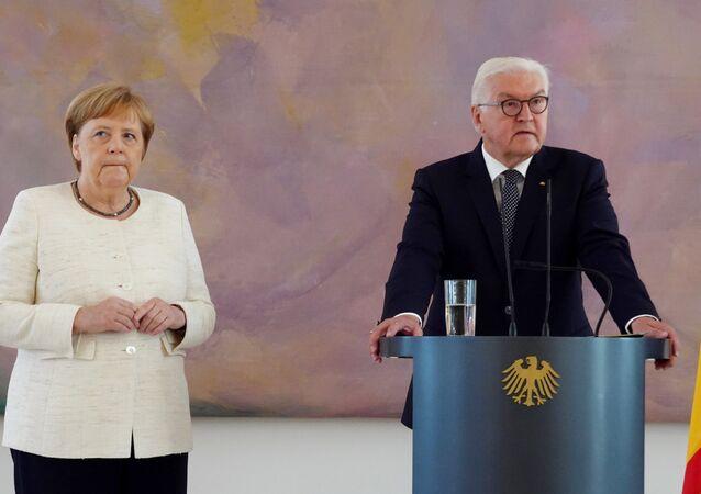 المستشارة الألمانية، أنجيلا ميركل 27 يونيو/ حزيران 2019
