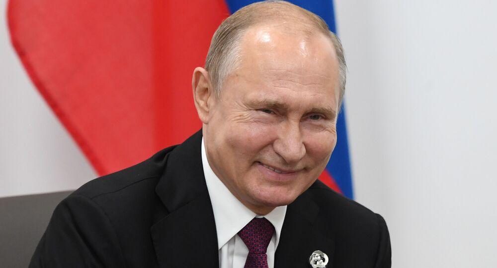 قمة مجموعة العشرين - لقاء الرئيس الروسي فلاديمير بوتين والأمريكي دونالد ترامب في مدينة أوساكا اليابانية، اليابان 28 يونيو/ حزيران 2019