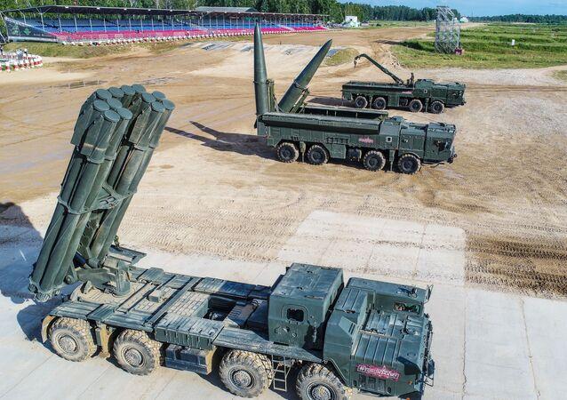 منتدى آرميا 2019 - راجمة صواريخ سميرتش، المنظومة الصاروخية إسكندر-إم