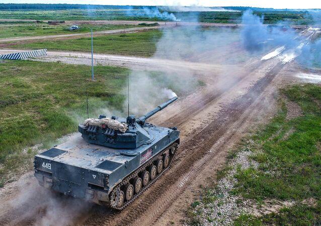 منتدى آرميا 2019 - مدفع ذاتي الحركة مضاد للدبابات 2إي25 سبروت-إس دي