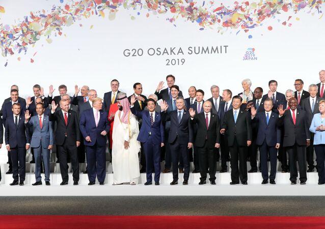 قمة مجموعة العشرين 2019 في مدينة أوساكا، اليابان 28 يونيو/ حزيران 2019