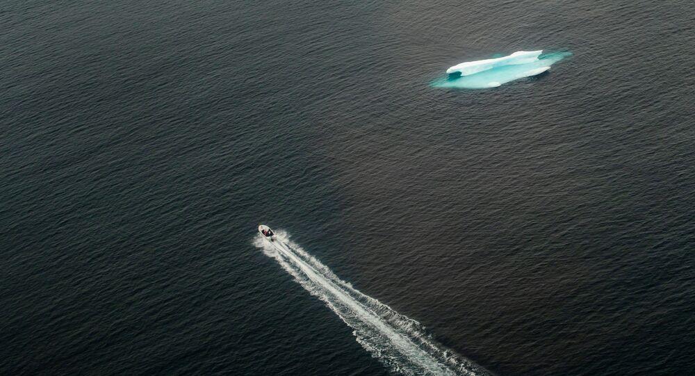 ذوبان الجليد بالقرب من تاسيلاك في غرينلاند، 24 يونيو/ حزيران 2018