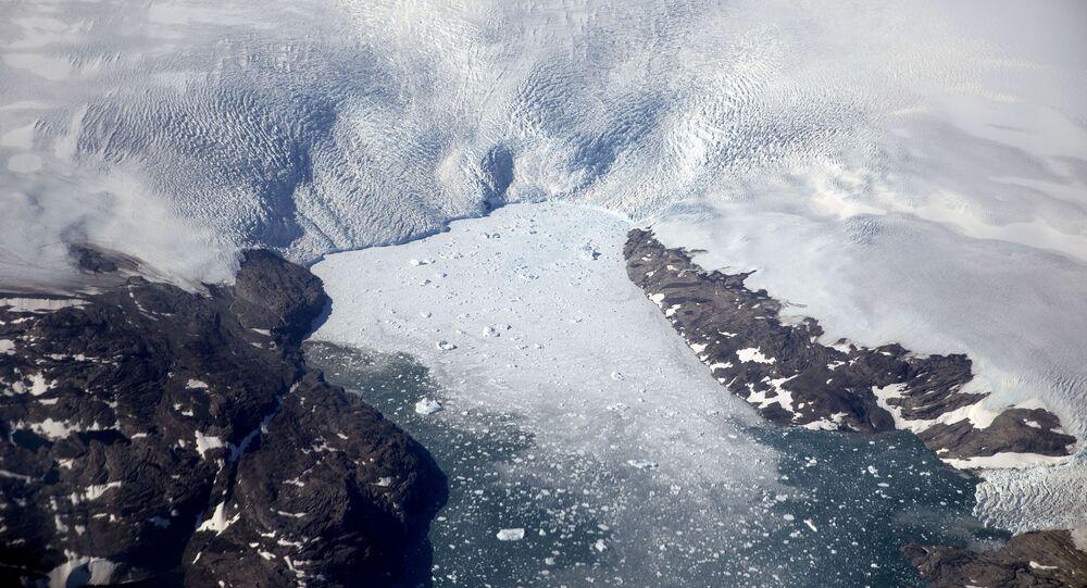ذوبان الجليد في غرينلاند 3 أغسطس/ آب 2017