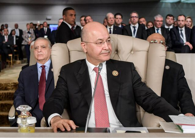 رئيس الجمهورية العراقية برهم صالح