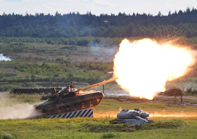 منتدى آرميا 2019 - دبابة تي-90أ