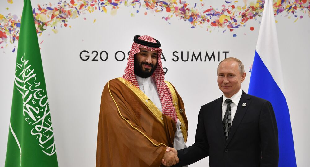بوتين ومحمد بن سلمان