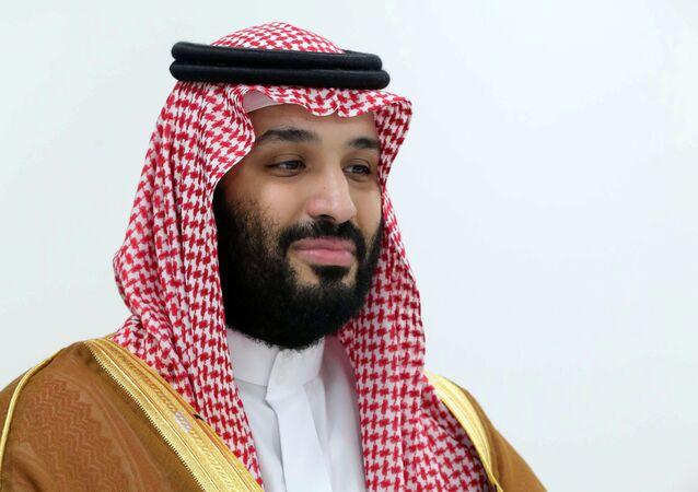 ولي العهد السعودي الأمير محمد بن سلمان في قمة العشرين، 29 يونيو/حزيران 2019