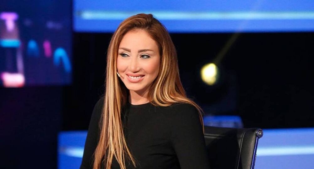 المذيعة المصرية ريهام سعيد