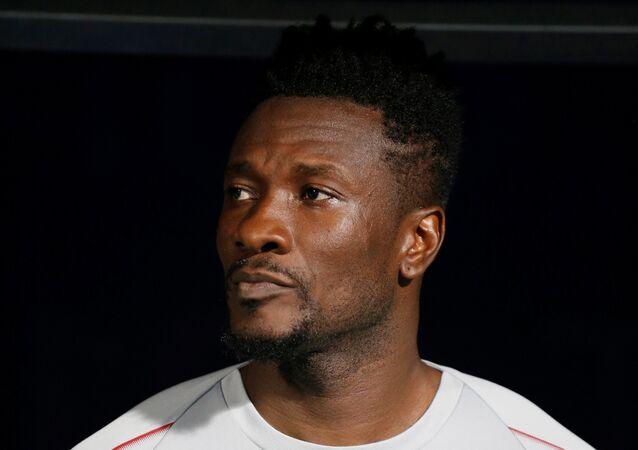 لاعب منتخب غانا لكرة القدم أسامواه جيان