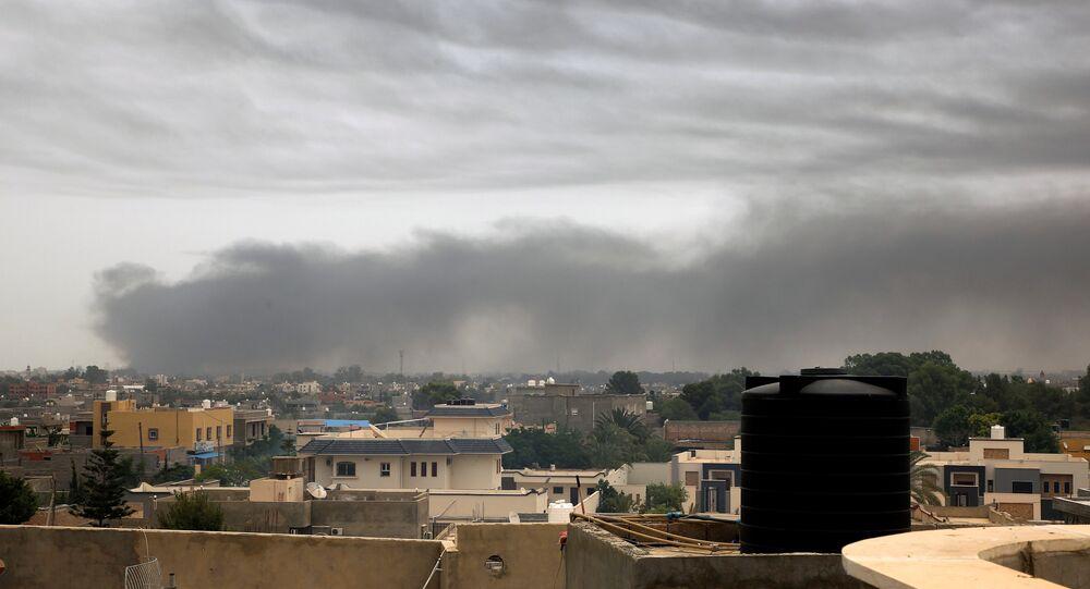 قصف الجيش الليبي على طرابلس