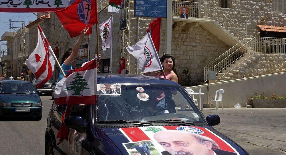 مناصيري الحزب التقدمي الإشتراكي وجنبلاط في جبل لبنان