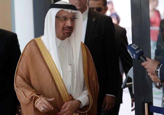 خالد الفالح وزير النفط السعودي