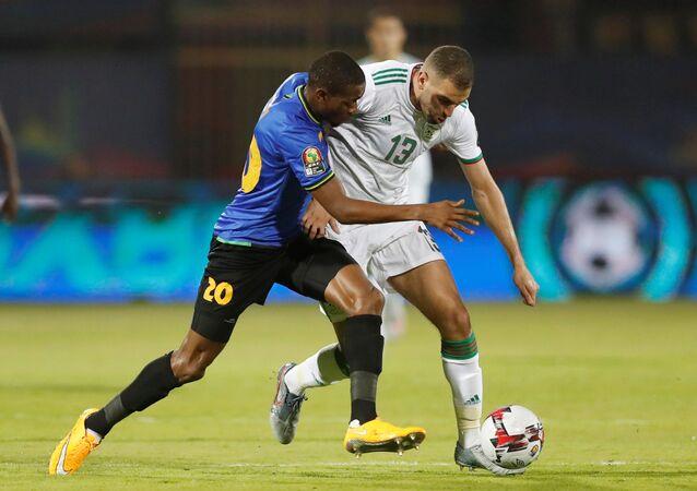 مباراة الجزائر وتنزانيا في أمم أفريقيا 2019