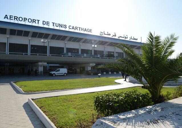 مطار قرطاج في تونس
