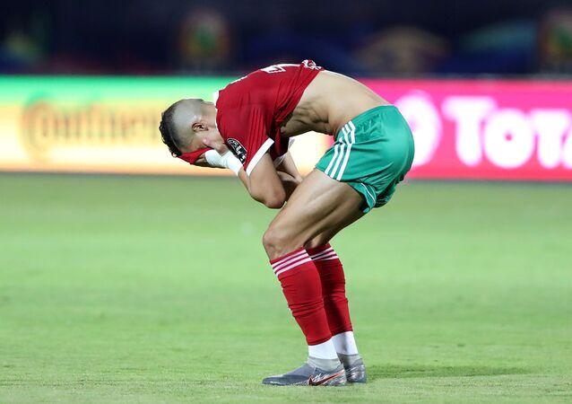 فيصل فجر لاعب منتخب المغرب