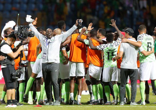 تأهل نيجيريا لربع نهائي أمم أفريقيا