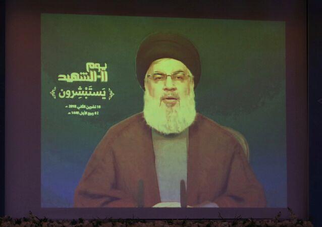 أمين عام حزب الله حسن نصر الله