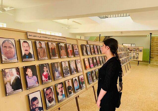 ناجية إيزيدية تكشف سرا خطيرا عن المختطفات لدى داعش في العراق