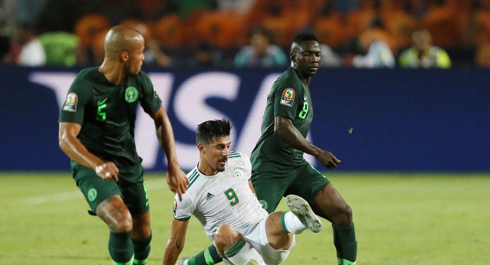 مباراة الجزائر ونيجيريا في أمم أفريقيا 2019