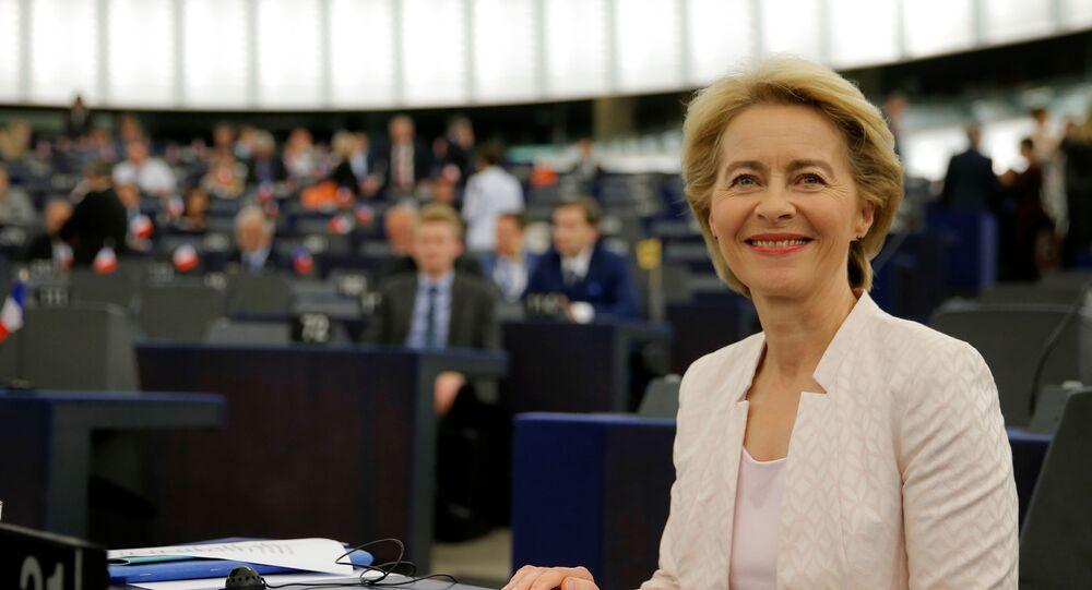 رئيسة المفوضية الأوروبية فون ديرلاين