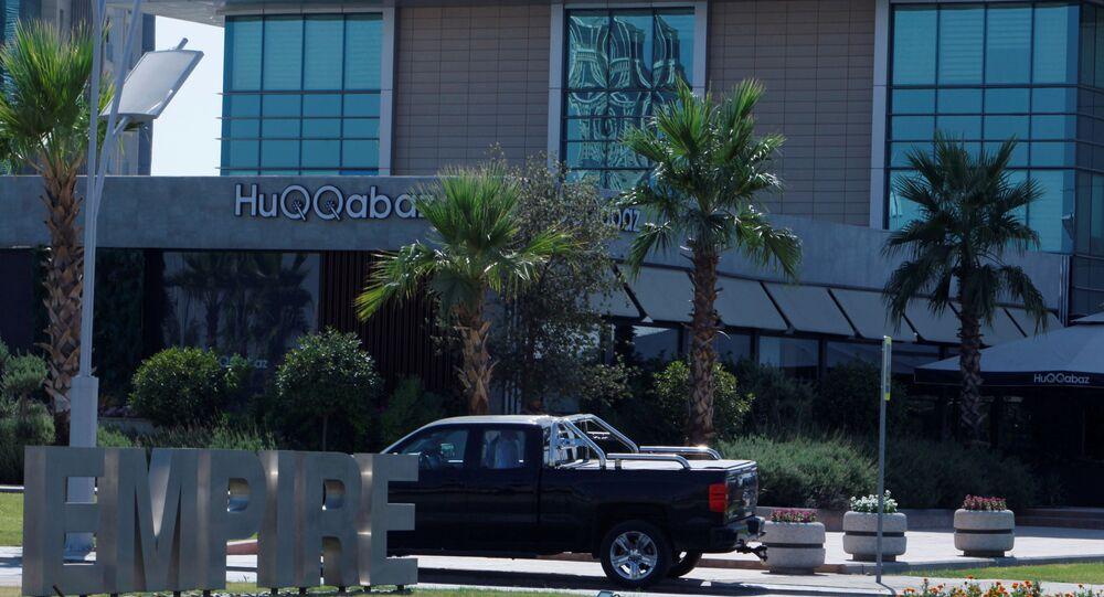 مطعم بأربيل حيث قتل الدبلوماسيين الأتراك، 17 يوليو/تموز 2019