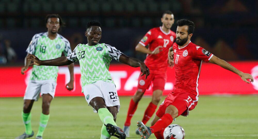 منتخبا تونس ونيجيريا