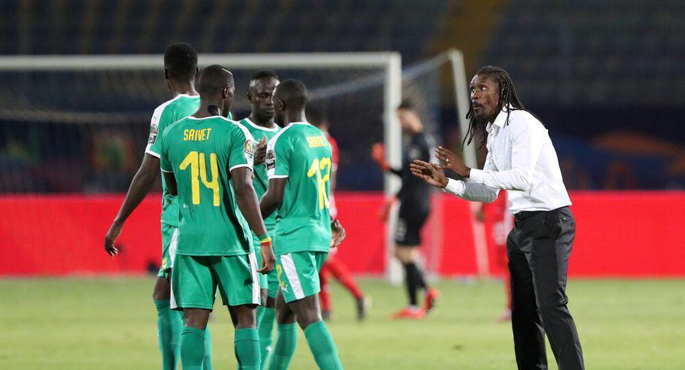 أليو سيسيه المدير الفني لمنتخب السنغال