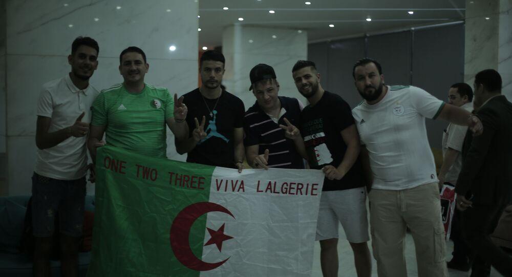 جماهير المنتخب الجزائري في القاهرة