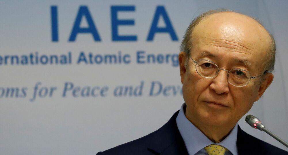 يوكيا أمانو المدير العام للوكالة الدولية للطاقة الذرية