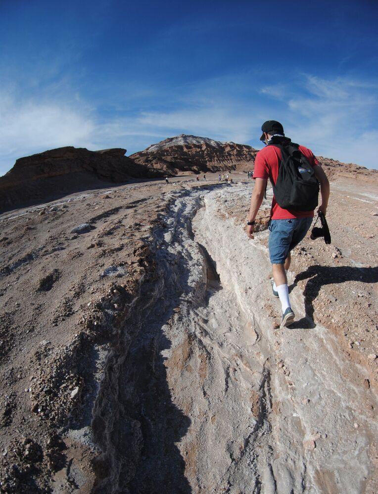 وادي فال دي لا لونا في شمال تشيلي