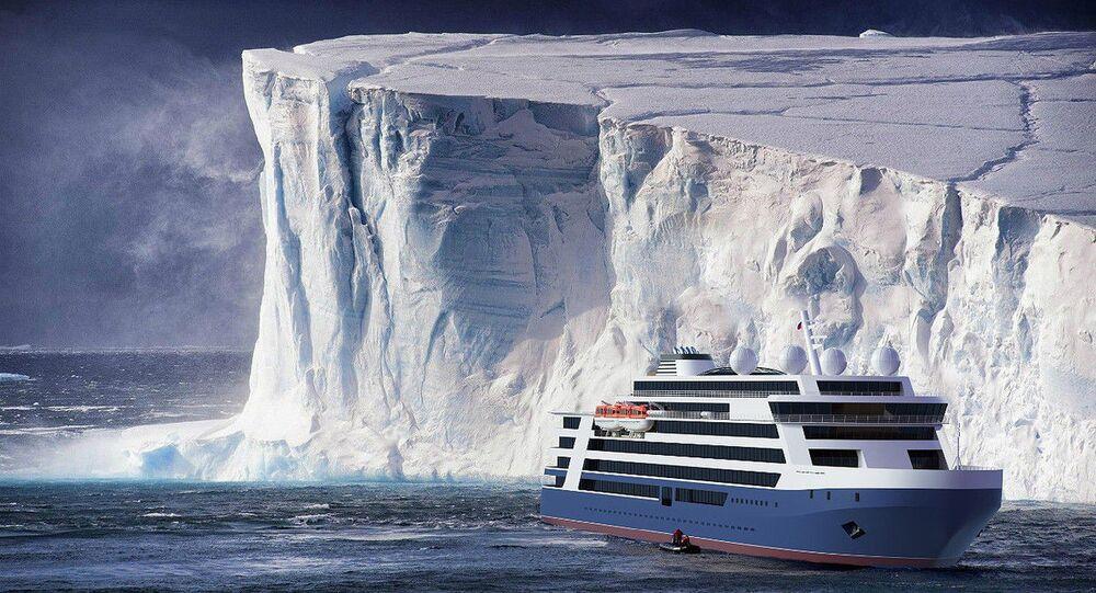 من المحتمل أن تُجهز هذه السفن المصممة للرحلات البحرية في القطب الشمالي بالكازينوهات، إذا ما تم تعديل القانون الروسي الخاص بمناطق المقامرة.