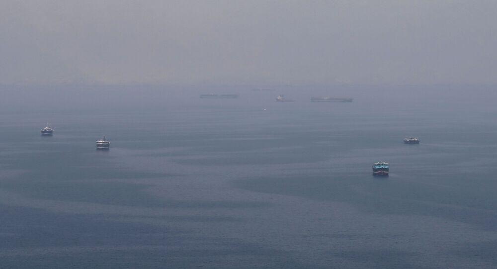 ناقلات نفط عمانية تتجه إلى مضيق هرمز، 21 يوليو/ تموز 2019