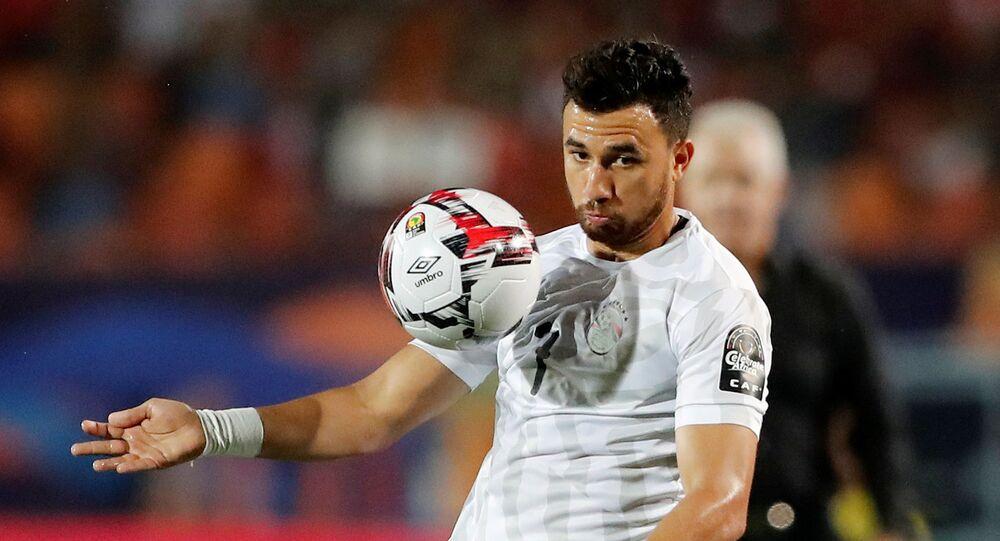 اللاعب المصري محمد حسن تريزيجيه