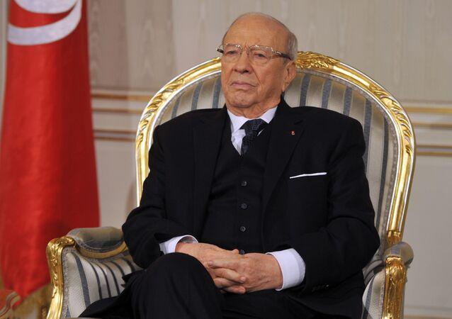 الرئيس التونسي الباجي قائد السبسي