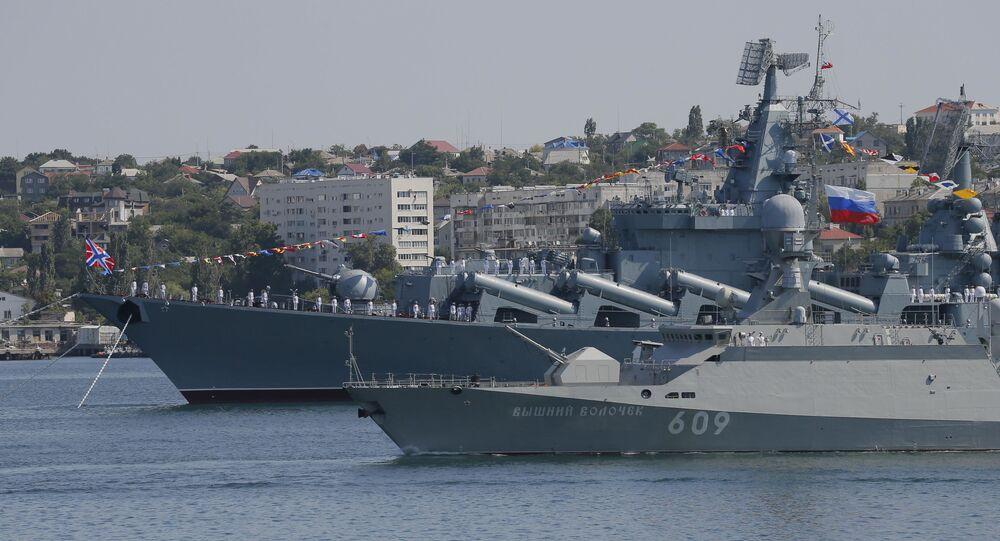 يوم البحرية الروسية