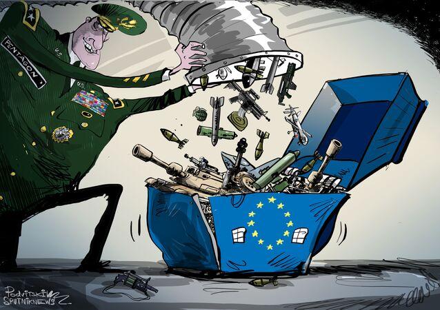 البنتاغون يستعد لنشر قوات في أوروبا