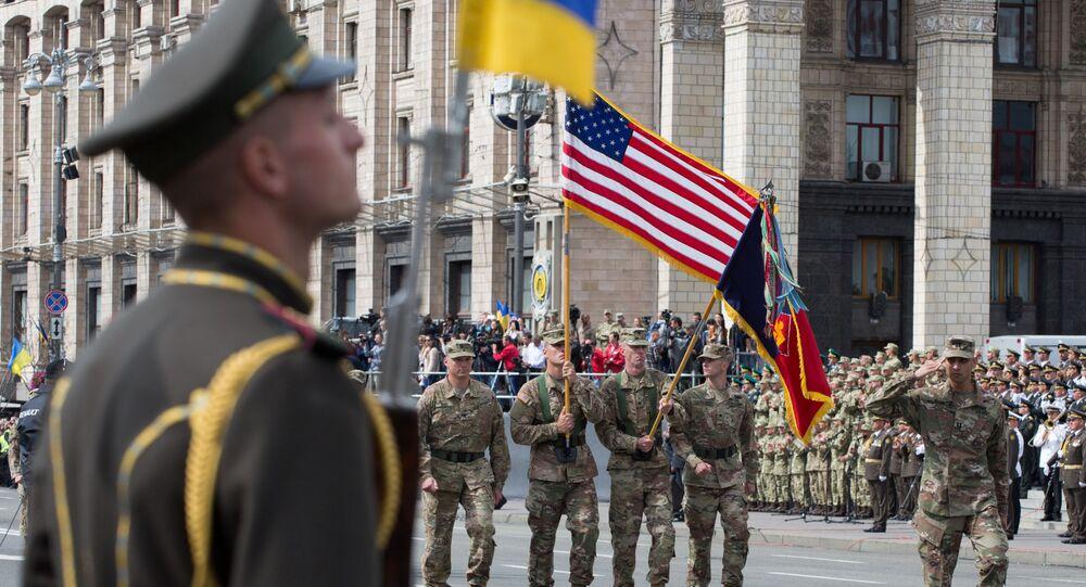 الناتو في كييف خلال الاحتفال بعيد استقلال أوكرانيا