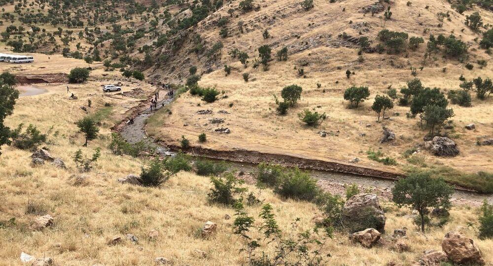 مدينة دهوك التاريخية الجبلية، في إقليم كردستان العراق